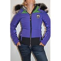 Sportalm Kitzbühel Mujer Chaqueta de esquí Nala 78 Azul Verde Tamaño 36 ...
