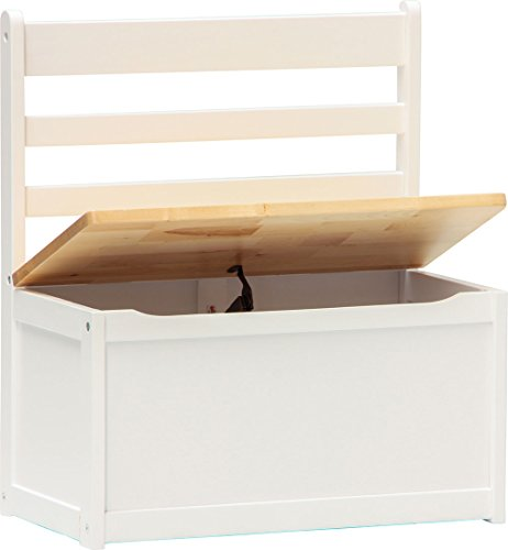 IB-Style - Kindersitzgruppe ILEX | 3 Kombinationen | 1x Truhenbank - Stuhl Truhenbank Kindermöbel Tisch Kindertisch Kinderstuhl -