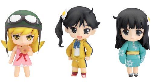 Preisvergleich Produktbild Nendoroid Petit: Bakemonogatari Set #3 PVC Figur