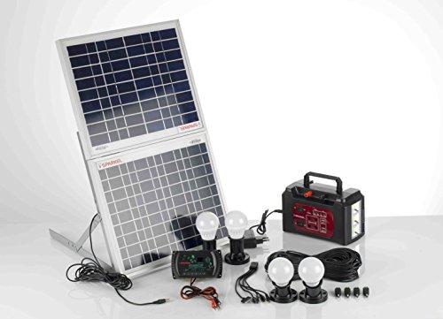 Sparkel Solar Rechargeable Multipurpose Lighting, Mini Inverter System - SPSHLS-300