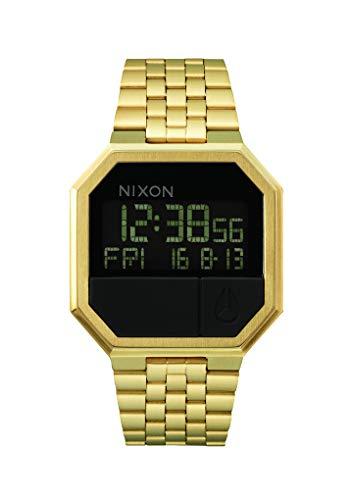 Nixon Unisex Digital Quarz Uhr mit Edelstahl Armband A158502-00 - Youtube-wie Ein Ein Man