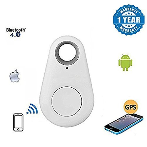 Wireless Bluetooth 4.0 Anti-lost Anti-Theft Alarm Device Tracker | Anti-lost-theft device Wireless Bluetooth GPS Locator |Anti-theft device remote Shutter & Recording |Anti lost-theft device Spy Mini GPS Tracking Device|Anti-lost -theft finder device Auto Car/ Pets/ Kids/ Motorcycle Tracker Track|Smart Anti-Lost Alarm Tracker|wieless Anti Lost Anti Theft Anti lost-theft device with super strong conectvivity Anti Lost |Compatible with Android & IOS Smartphones(Install App from PlayStore/AppStore  available at amazon for Rs.490