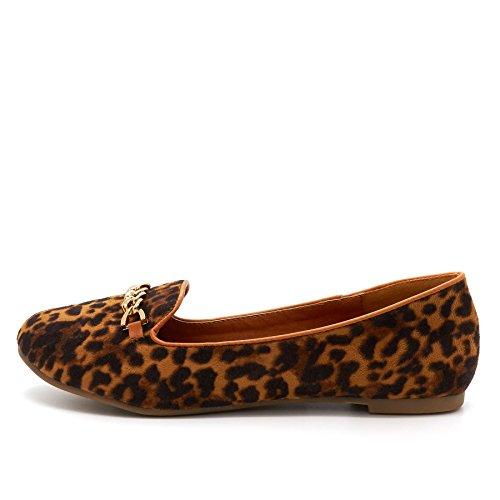 London Footwear , Sandales Compensées femme Marron - marron