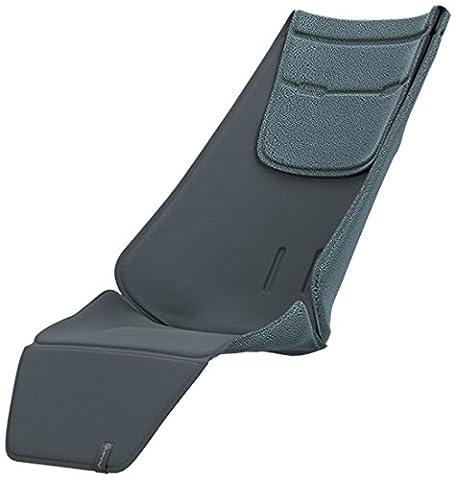 Quinny Sitzauflage, schafft eine bequeme und unterstützende Position, geeignet für Quinny Zapp Flex Plus, Zapp Flex und Zapp Xpress, grau
