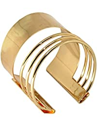 Armreif Armband Armspange Oberarmreif Arm Spange Silbern Golden Bangle Vintage