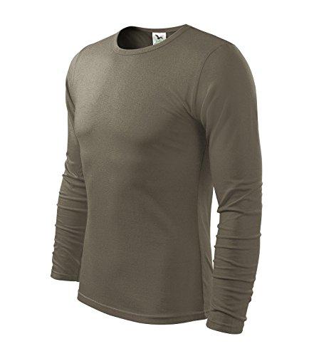 adler-t-shirt-da-uomo-a-maniche-lunghe-100-cotonemisure-e-colore-a-scelta-esercito-s