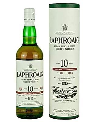 Laphroaig 10 Year Old Cask Strength Batch 10