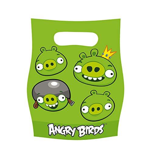 Amscan Geschenktüte Angry Birds 6 Stk.