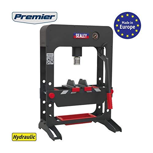 SEALEY ppb15Bench Typ PREMIER hydraulischen Presse, rot, 15Tonnen
