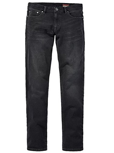 Paddocks - Jeans - Tapered - Homme Black Dark Stone Used Moustache (4906)