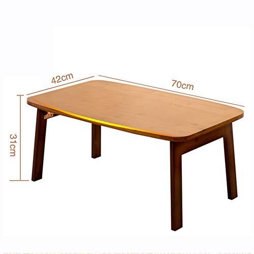 Zhuozi FUFU Wandhalterung Große Größe Laptop-Fach Schreibtisch Faltbare Bett Tischplatte, Kaffee/TV Schreibtisch 100{d5f77d4e93ac5a3b116fd8b8f2289efde5b889af338f57b9a58cea86419f830e} Bambus Frühstück Serviertablett Gaming Writing 3 Größen Drop-Blatt-Tabelle