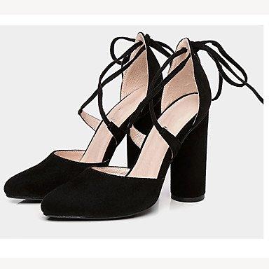 Zormey Sandales Femmes Chaussures Club D'Été Parti Velours &Amp; Tenue De Soirée Talon US6.5-7 / EU37 / UK4.5-5 / CN37