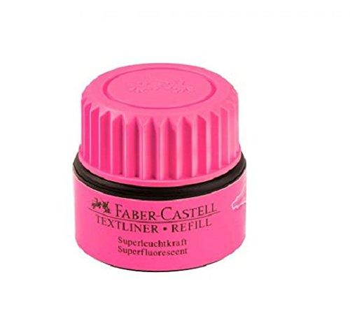 Faber-Castell 154928 – Recambio para Textliner 1543, 1546 y 1548, rosa