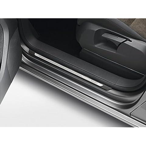 Volkswagen Original listones de umbral Acero Inoxidable Touran Juego de 41t0071303listones