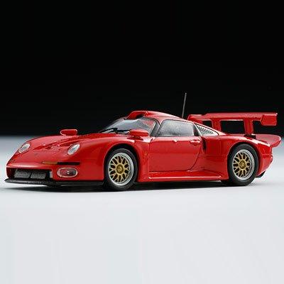 original-kyosho-1-64-porsche-911gt1-1996-red-japan-import