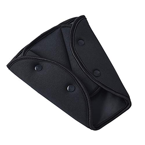 YOUNICER Kinder Auto Sicherheit Dreieck Sicherheitsgurt Teller Kleinkind Sicherheitsgurt Einstellung Schultergurt Pads Protector Gurtband Positionierer