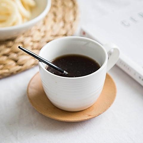 Tazas de cerámica mug minimalista oficina tazón de agua leche desayuno taza de café tazas jarra para