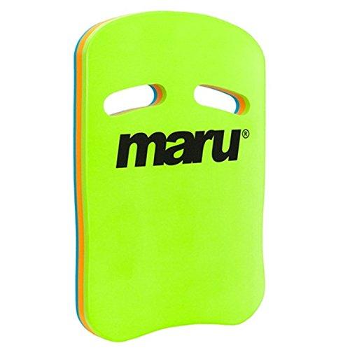 Maru Fitness Kickboard - Türkis / Orange / Kalk