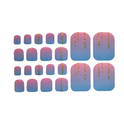 Cuteelf Nagel Kunst Folie Transfer Aufkleber - Nagel Aufkleber Tipps Wraps Nagel-Abziehbilder DIY Transfer Adhesive Glitters Dekoration, A-Stern