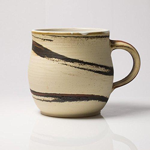 Tasse, Keramik, handgetöpfert, >250 ml, von Tanos Keramik