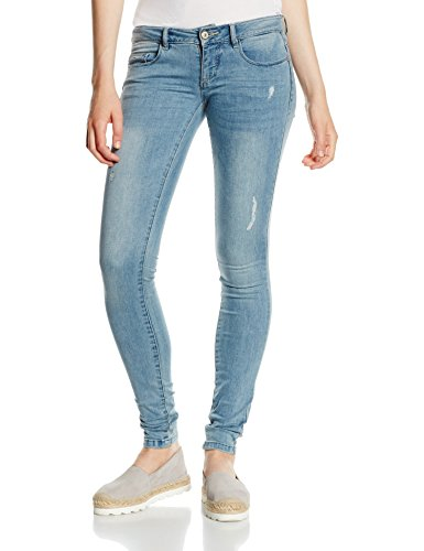 Only, Jeans Femme Bleu (Medium Blue Denim)