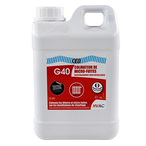 GEB 60709 G40 colmateur anti fuite bidon 2l 870118, Blanc
