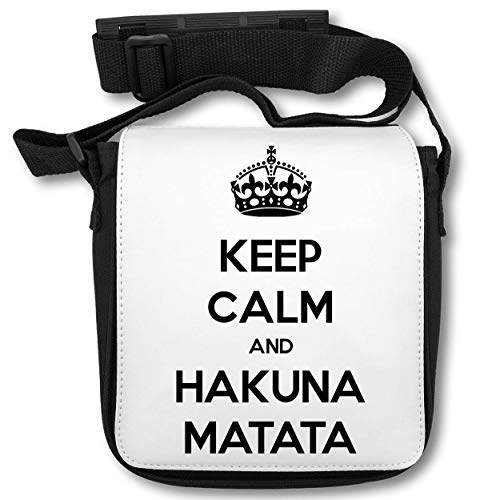 Keep Calm and Hakuna Matata Bolsa de Hombro