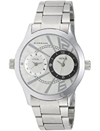Giordano Analog White Dial Men's Watch - 60056 DTM (P6867)