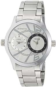 Giordano Analog White Dial Men's Watch - 60056 DTM (P6867)