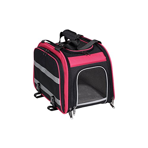 Nantucket Bike Korb CO erweiterbar hinten Pet Carrier Korb, pink/schwarz - Sealed Cartridge