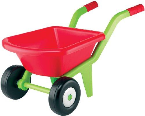 #0618 Kinderschubkarre mit zwei Rädern, wendig und stabil, 58 cm • Kinder Schubkarre 2 Rad Schiebkarre Sandkasten-Spielzeug