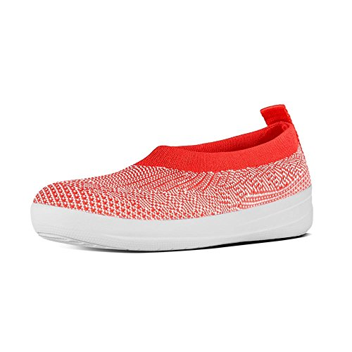 fitflop-uberknit-slip-on-ballerine-chaussures-chaude-neon-corail-fard-a-joues-uk65-chaud-coral-neon-