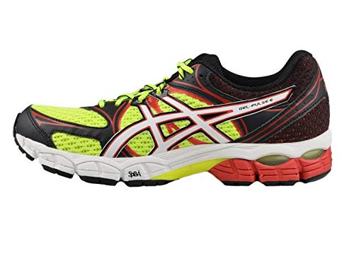 Asics Gel-Pulse 6 Men's Trainers Flash Yellow/Red