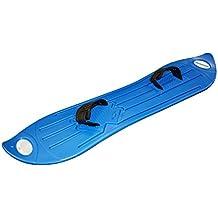 White Out Tabla de snowboard de plástico color azul, para adultos y niños de más de 8 años