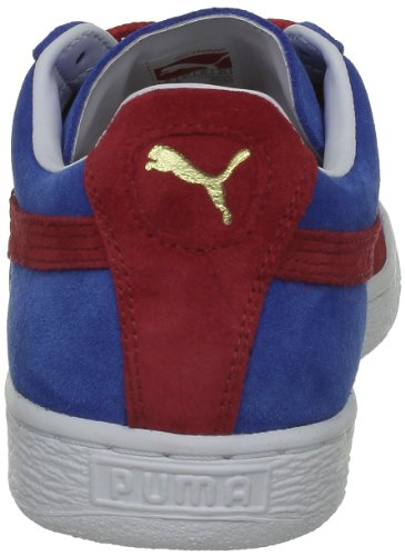 Puma Suede Classic+ , Baskets Basses Mixte Adulte Blau (vallarta blue-bittersweet 56)