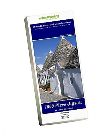 Photo Jigsaw Puzzle of Old trulli houses with stone domed roof