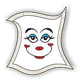 jeder-kann-basteln ♥ Sticker-Gesichter-Strahlen ♥ Kleiner Preis! Lustige Aufkleber (Augen, Nase, Mund) für Kinder (mittel)