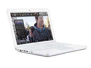 Apple MacBook MC516D/A 33,8 cm (13,3 Zoll) Notebook (Intel Core 2 Duo P8600, 2,4 GHz, 2GB RAM, 250GB HDD, NVIDIA GeForce 320M, DVD, Mac OS)