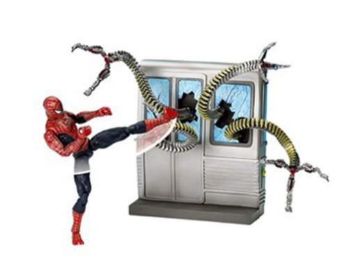 SpiderMan 2 Movie Action Figure Spin Kick SpiderMan by