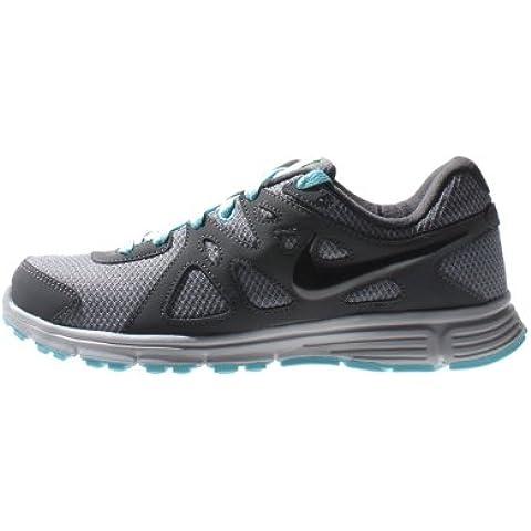 Nike - Revolution 2 Msl - Color: Gris-Negro - Size: 42.0