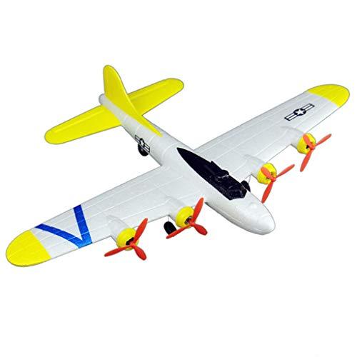 Deep lovly RC Segelflugzeug Ferngesteuertes 2.4GRC Flugzeug Fixed Wing Plane Outdoor,geeignet für Anfänger und Profis, Komplett-Set inkl. Fernsteuerung und Zubehör