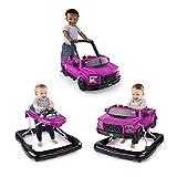 Bright Starts, 3 In 1 Lauflernhilfe, FORD F-150 RAPTOR, Pink, In 3 Varianten verwendbar, 2 Kinder können Gleichzeitig Spielen, wächst mit, Ab 6 Monaten