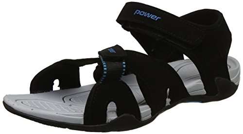 Power Men's Sandal M Black Floaters - 9 UK/India (43 EU)(8616858)