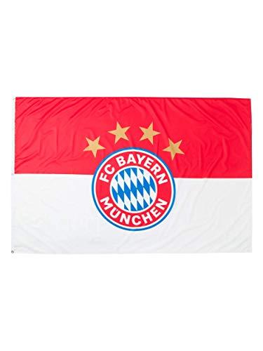 FC Bayern München Hissfahne Logo 180x120cm