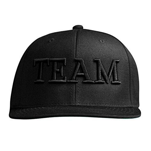 MARQUE NOIRE – BLACK TEAM Snapback - Cap, Baseball Caps, Herren Damen Unisex (Rüstung Brad)