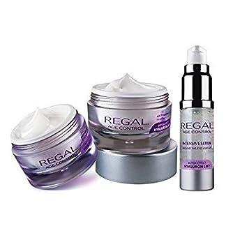 Regal Age Control – Pack de 3 cremas con efecto antiarrugas y lifting – Crema de día, Crema de Noche y Serum Contorno de Ojos y Labios