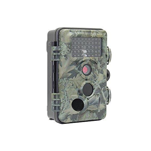 SY-Online Caméra de Chasse, Caméra de Surveillance Infrarouge Imperméable Vidéo 12MP 1080P...