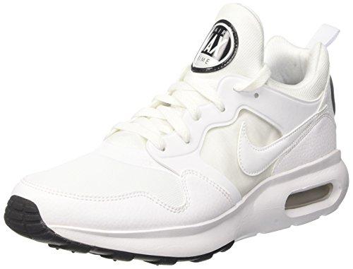 Nike Herren Air Max Prime Sneaker, Weiß (White/White-Pure Platinum-Black), 44.5 EU