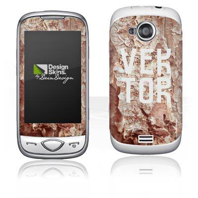 Samsung Adidas F110Schutzfolie Design Aufkleber Skin Höhle Vektor Steine selbstklebend,