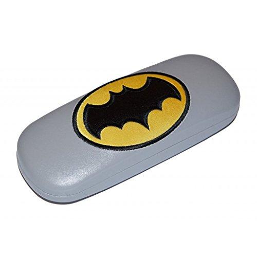 'Los niños-Funda para gafas Funda rígida divertido para niños con diseño de Batman Metal Bisagra extra seguro cierre interior con terciopelo tela muy estable Dimensiones (Ancho x Alto x Fondo): 165x 36x 60mm